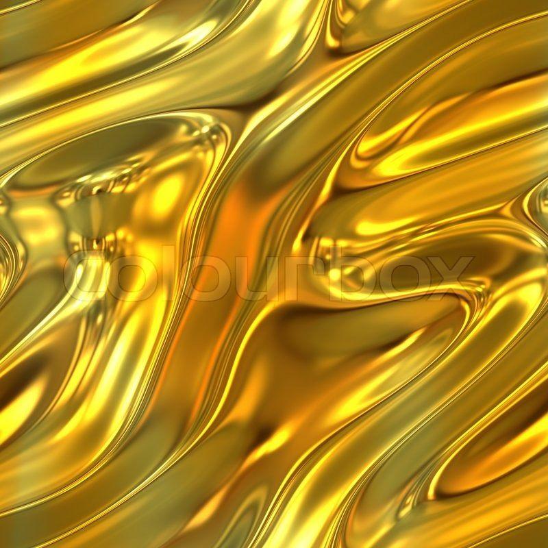 Molten Gold Liquid