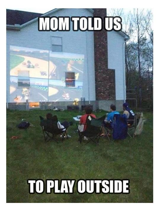 Mom Told Us To Play Outside