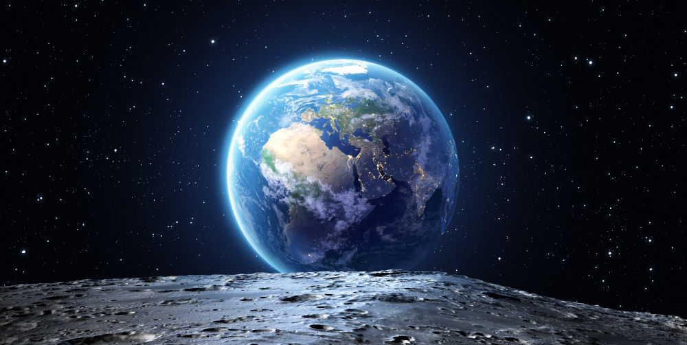 Moon Earth