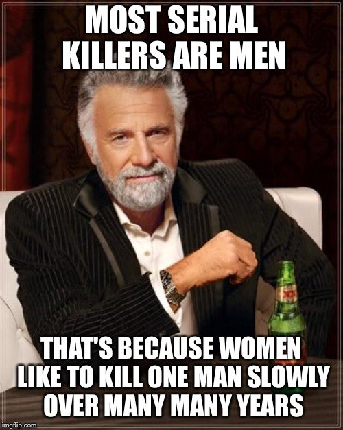 Most Serial Killers Are Men