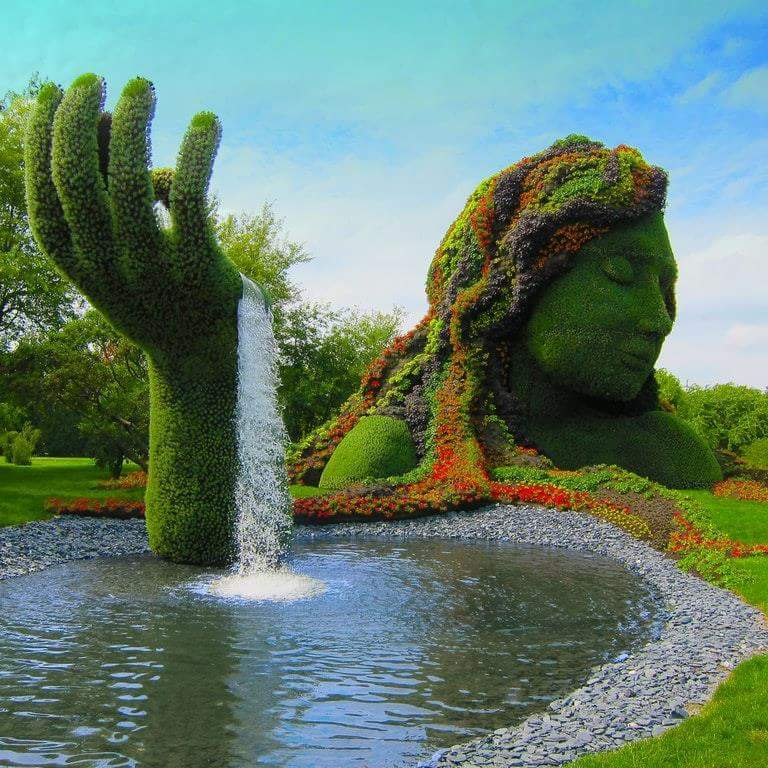 Mother Nature Fountain
