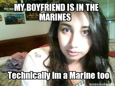 My Boyfriend Is In The Marines
