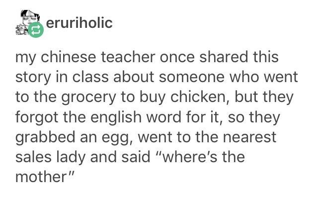 My Chinese Teacher