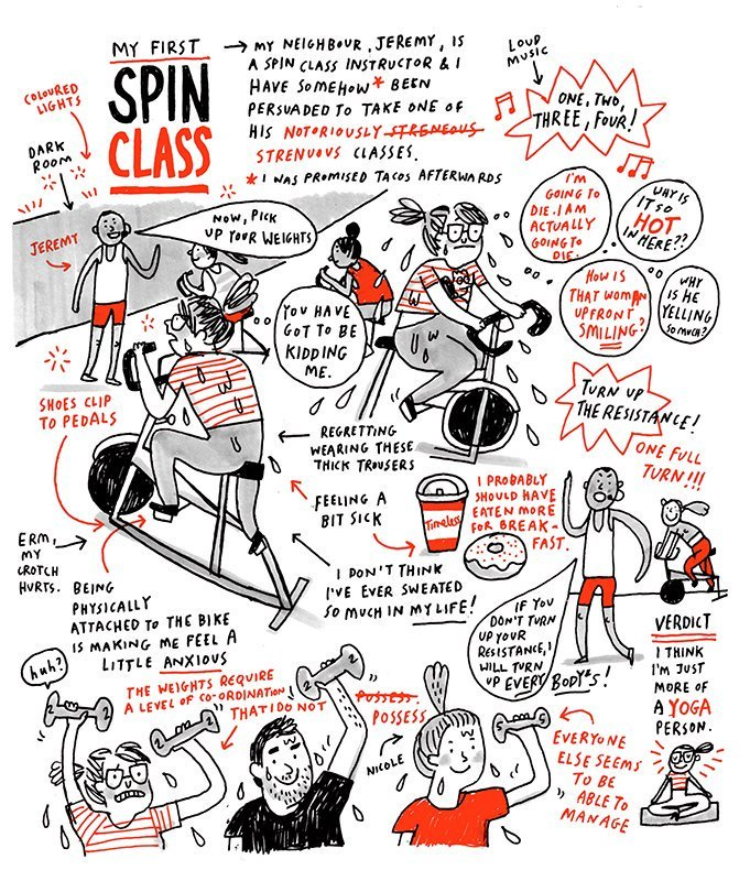My First Spin Class