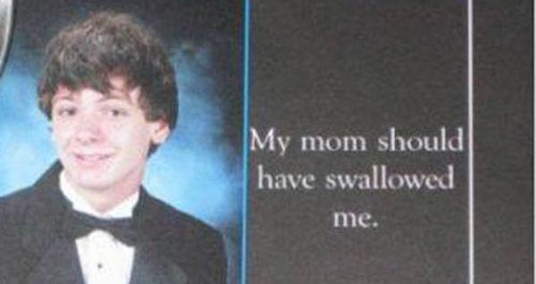 My Mom Should Have Swallowed Me