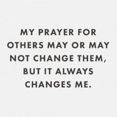 My Prayer For Others