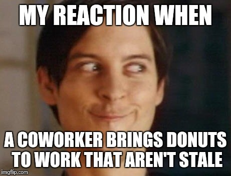 My Reaction When