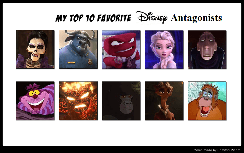 My Top 10 Favorite