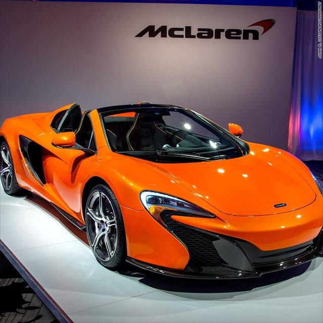NY Auto Show 2015 Mclaren