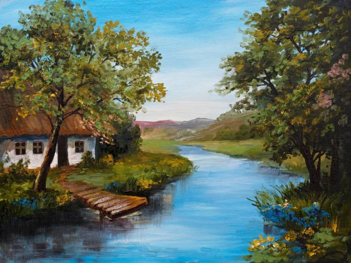 Nature Painting Canvas