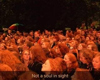Not a soul in sight