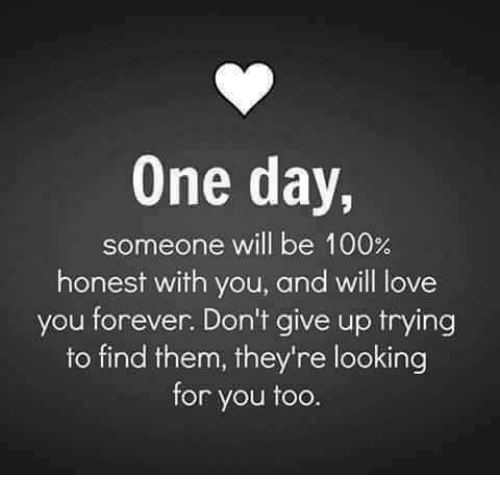 One Day Someone