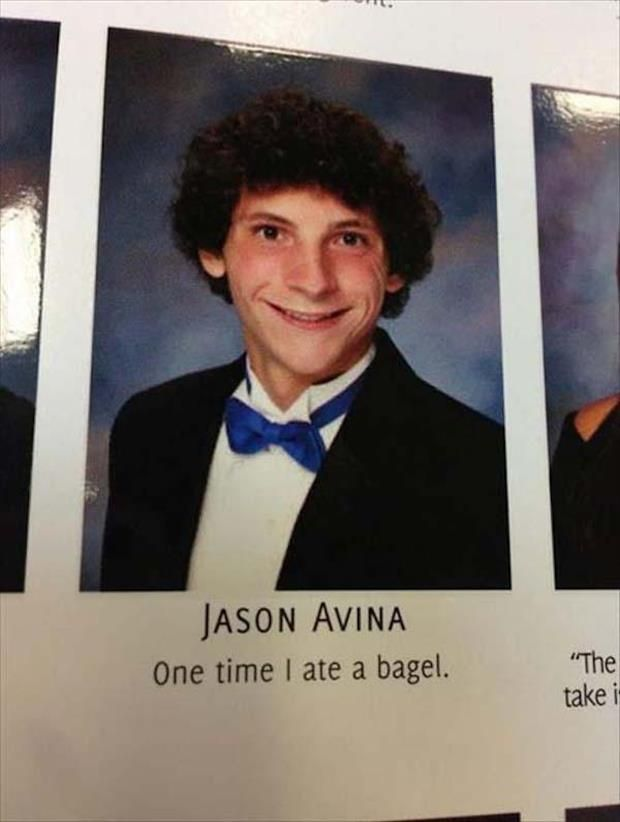 One Time I Ate A Bagel