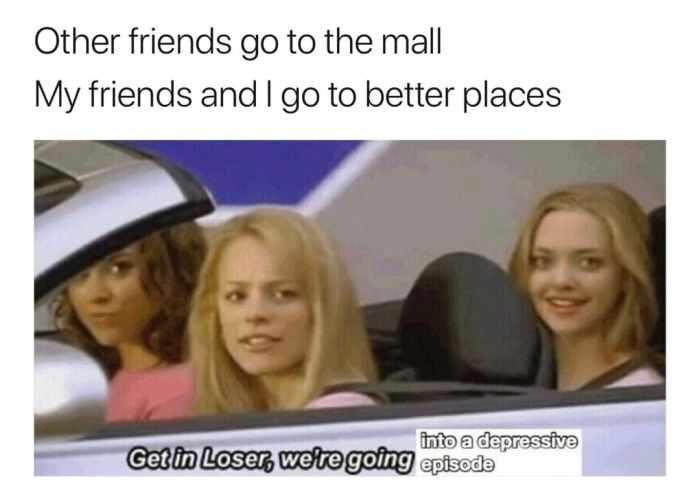 Other Friends Go To The Mall