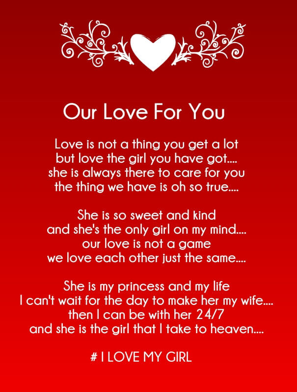 Our Love for You