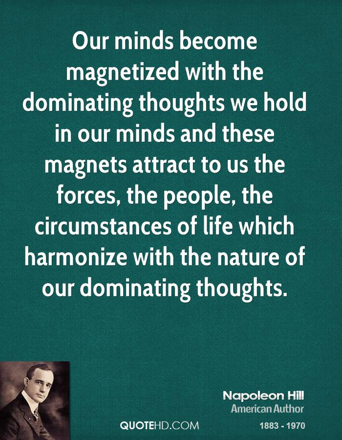 Our Minds Become Magnetized
