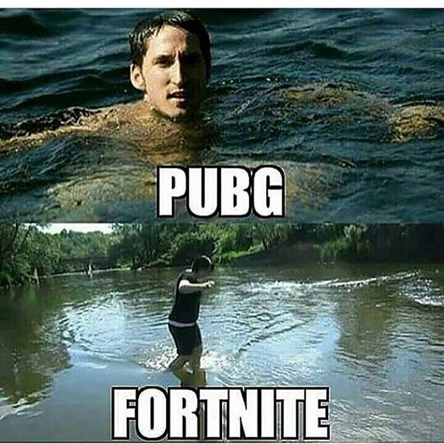 PUBG Fortnite