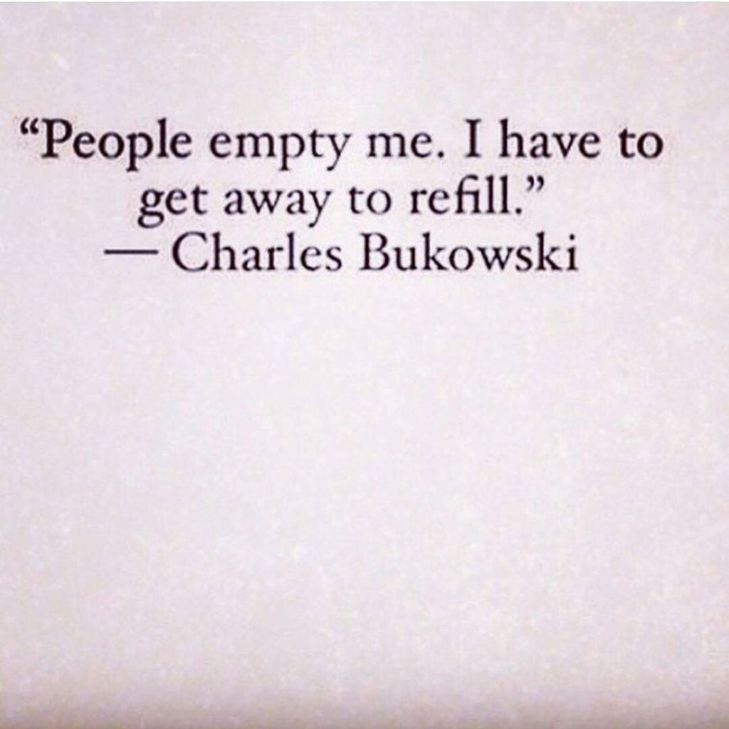 People Empty Me