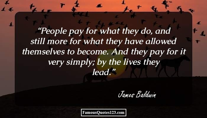 People Pay For What They Do