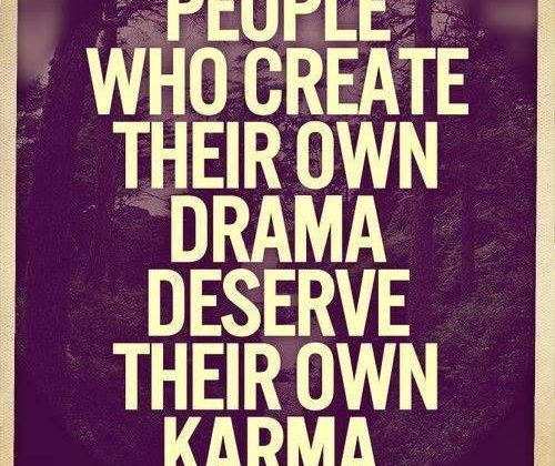 People Who Create Their Own Drama