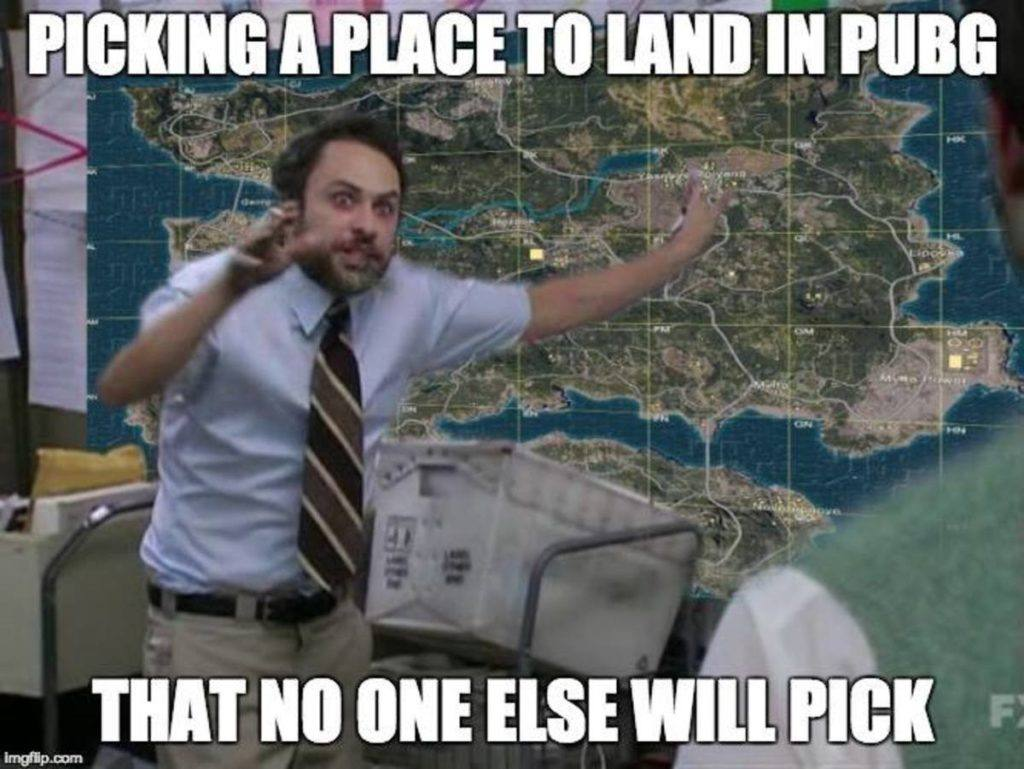 Picking A Place To Land