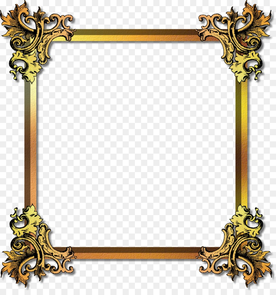 Picture Frames Gold Film Frame