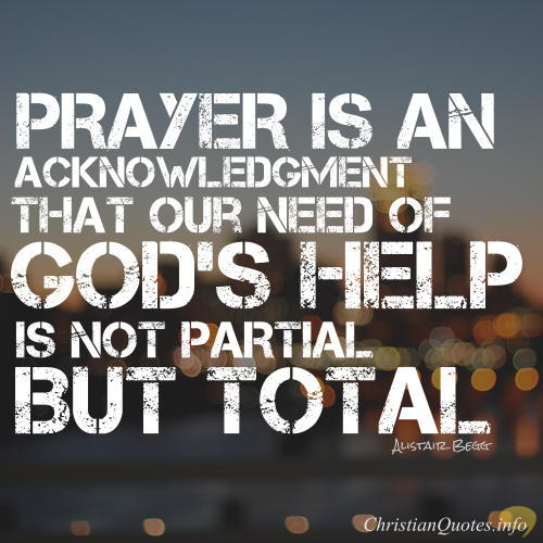 Prayer Is An Acknowledgement