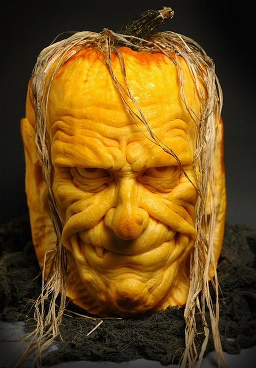 Pumpkin Sculpted
