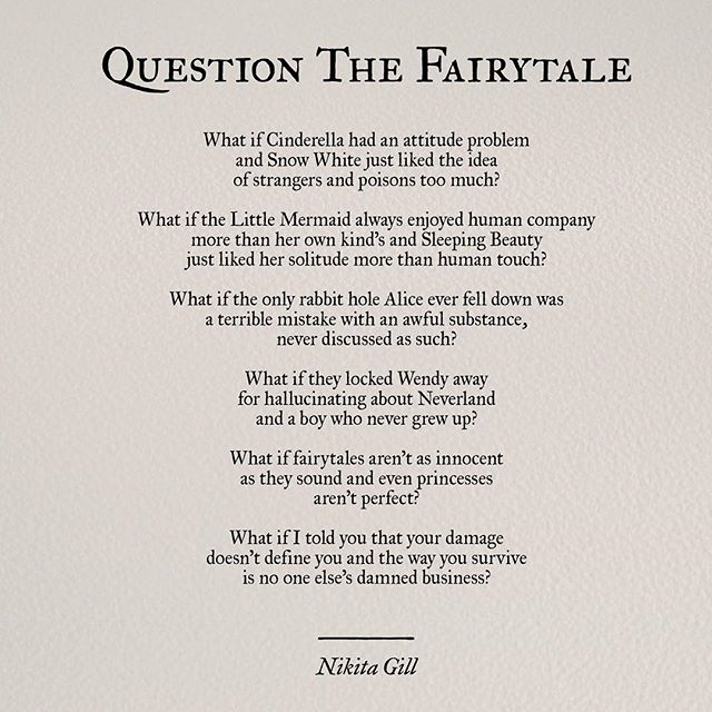 Question The Fairytale