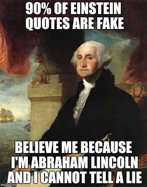 Quotes Are Fake