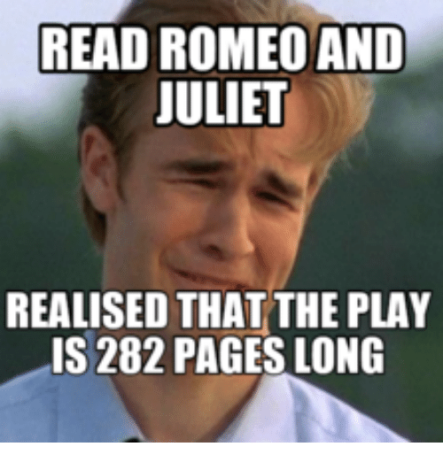 Read Romeo And Juliet