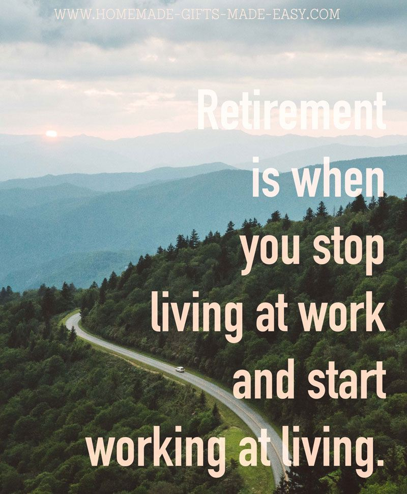 Retirement Is When You Stop