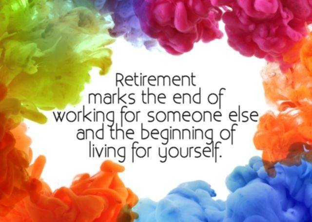 Retirement Marks The End