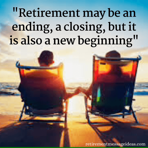 Retirement May Be An Ending