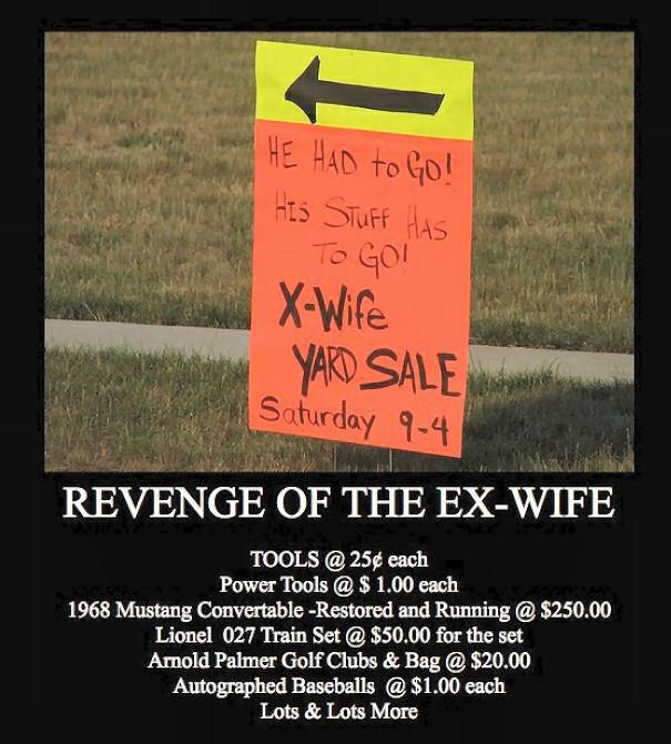 Revenge Of The Ex Wife