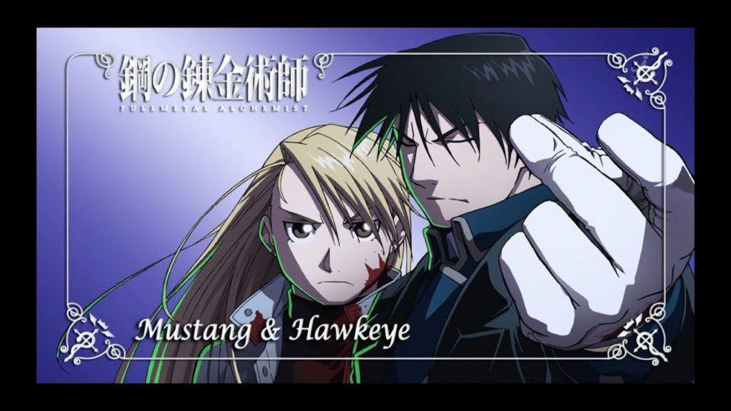 Riza Hawkeye And Roy Mustang