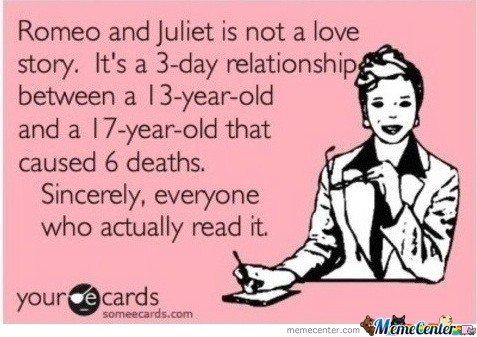 Romeo And Juliet Is Not Love Story