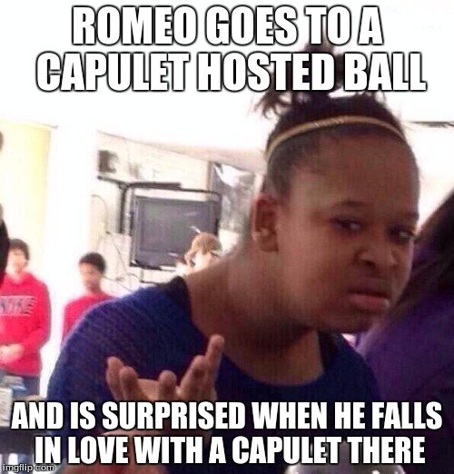 Romeo Goes To A Capulet