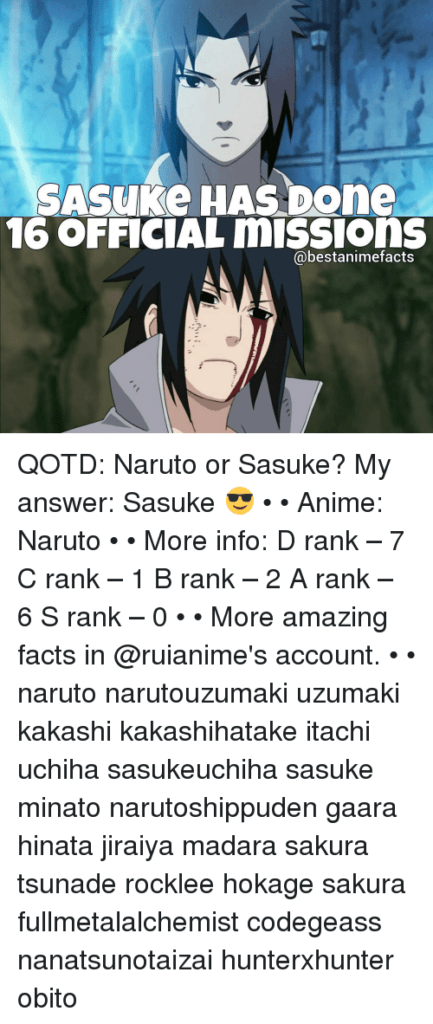 Sasuke Has Done