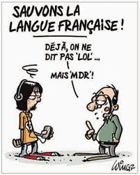 Sauvons la langue francaise