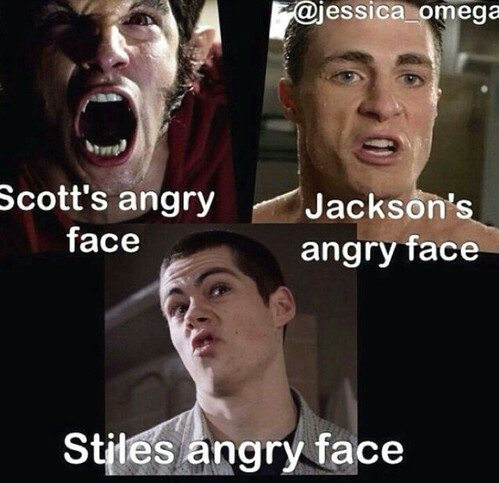 Scott's Angry Face