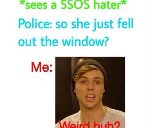 Sees A 5sos Hater