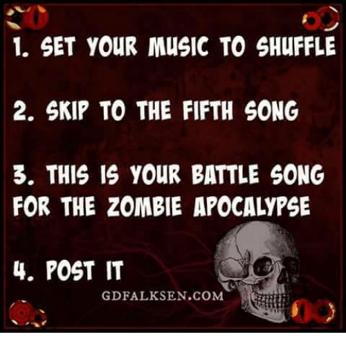 Set Your Music To Shuffle