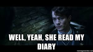 She Read My Diary