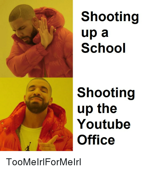 Shooting up a school