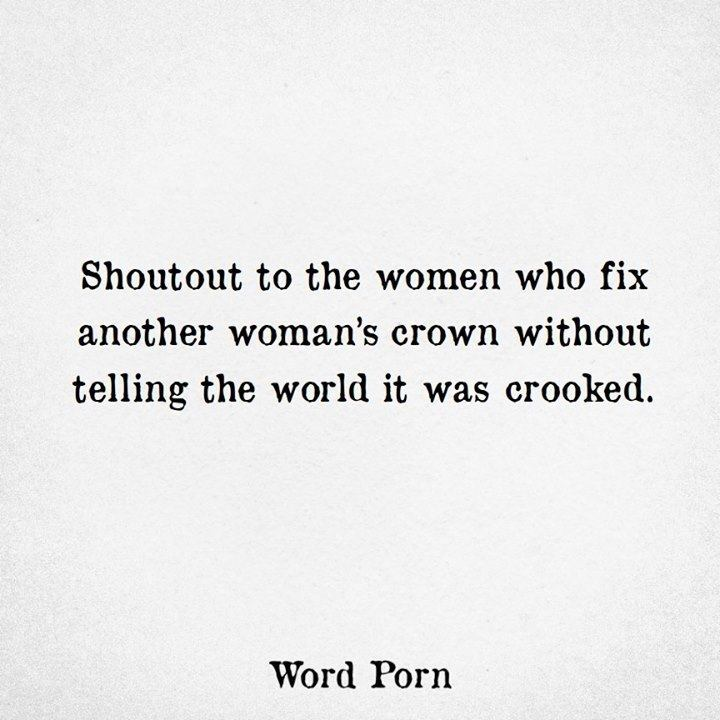 Shoutout To The Women