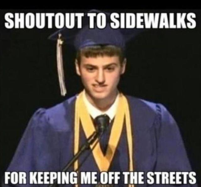 Shoutout to Sidewalks