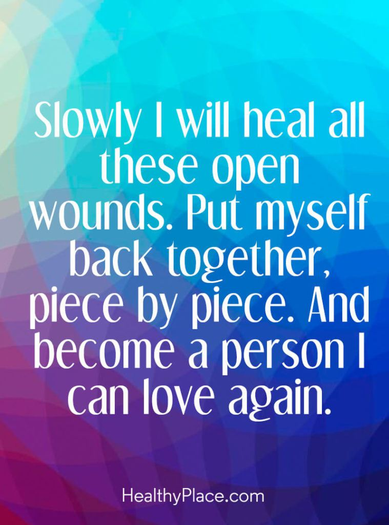 Slowly I Will Heal All
