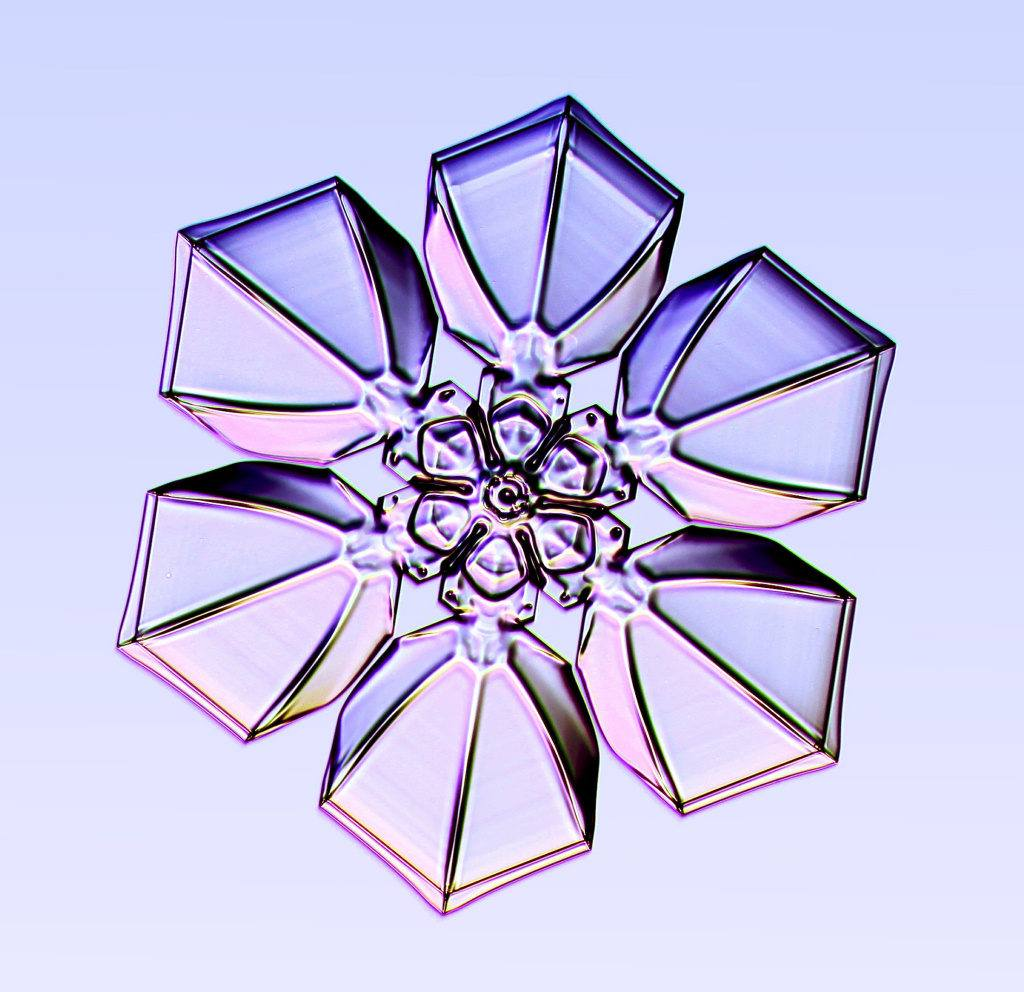 Snowflake Made In Glass