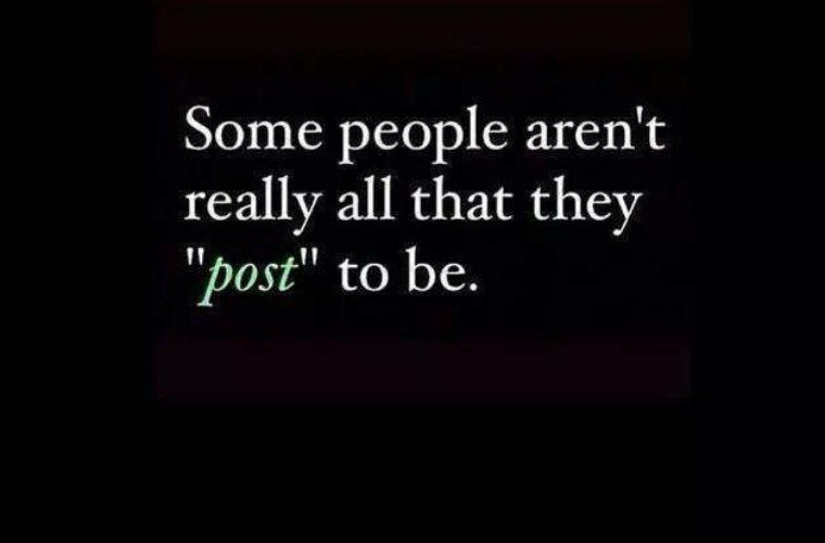 Some People Aren't Really